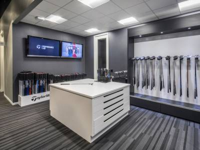 TaylorMade Canada HQ includes golf laboratory and product showroom