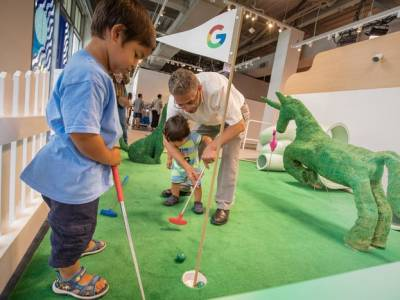 Fore! Inside The Google Home Mini Golf Pop-up Experience